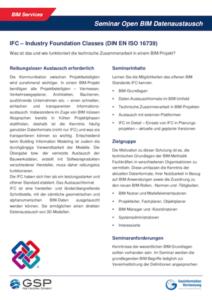Info-Broschüre BIM